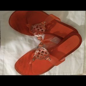 Coach jelly sandals 7